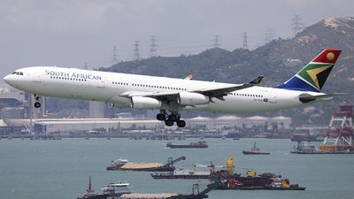 ZS-SXC - Airbus A340-313E - South African Airways
