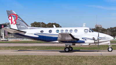 LV-BRL - Beechcraft A100 King Air - Private
