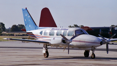 VH-TWU - Piper PA-31-350 Navajo Chieftain - Western Airlines of Australia