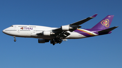 HS-TGZ - Boeing 747-4D7 - Thai International Airways