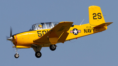 N13WB - Beech D-45 Mentor - Private