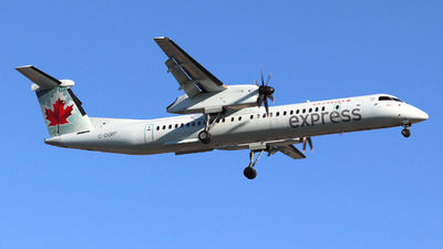 C-GGBF - Bombardier Dash 8-Q402 - Air Canada Express (Jazz Aviation)