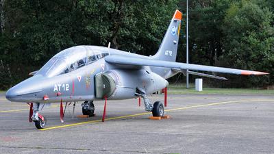 AT-12 - Dassault-Breguet-Dornier Alpha Jet 1B+ - Belgium - Air Force