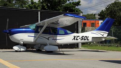 XC-SOL - Cessna U206G Stationair - Mexico - Government