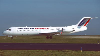 F-GPXD - Fokker 100 - Air Inter Europe