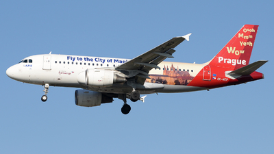 OK-NEP - Airbus A319-112 - Eurowings (CSA Czech Airlines)
