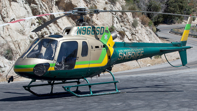 N966SD - Eurocopter AS 350B2 Ecureuil - United States - Los Angeles County Sheriff