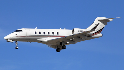 N725QS - Bombardier BD-100-1A10 Challenger 350 - NetJets Aviation