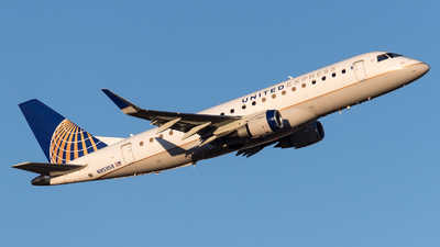 A picture of N85358 - Embraer E175LR - United Airlines - © Positive Rate Photography