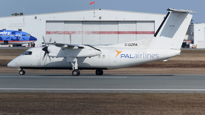 A picture of CGZPA - De Havilland Canada Dash 8100 - Perimeter Aviation - © Scott Pindera