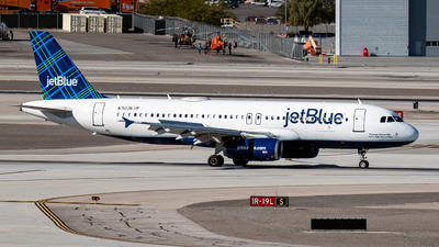 A picture of N712JB - Airbus A320232 - JetBlue Airways - © Garey T. Martin