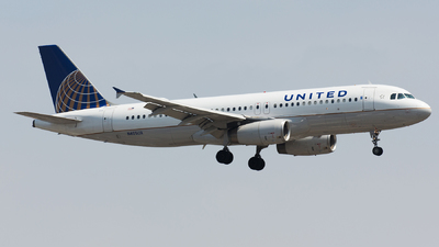 N405UA - Airbus A320-232 - United Airlines