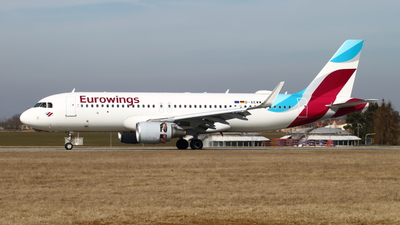 D-AEWW - Airbus A320-214 - Eurowings