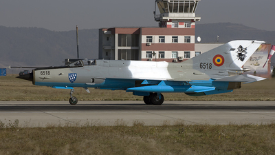 6518 - Mikoyan-Gurevich MiG-21MF Lancer C - Romania - Air Force