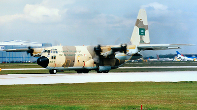 1624 - Lockheed C-130H Hercules - Saudi Arabia - Air Force