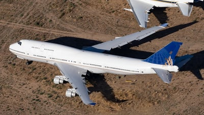 N127UA - Boeing 747-422 - Untitled