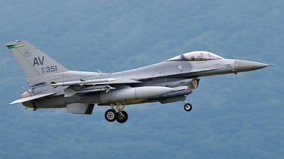 87-0351 - General Dynamics F-16C Fighting Falcon - United States - US Air Force (USAF)