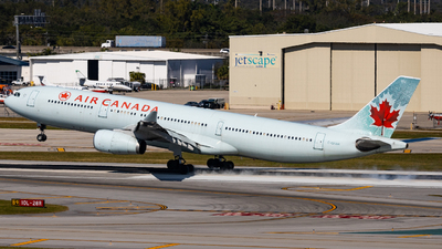 A picture of CGFAH - Airbus A330343 - Air Canada - © soflo_spotter