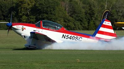 A picture of N540SC - De Havilland Canada DHC1 Chipmunk - [139] - © Kevin Porter