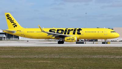 N687NK - Airbus A321-231 - Spirit Airlines