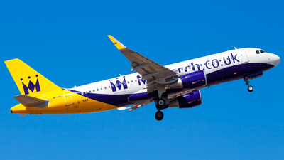 G-ZBAB - Airbus A320-214 - Monarch Airlines