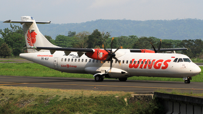 PK-WJI - ATR 72-212A(600) - Wings Air