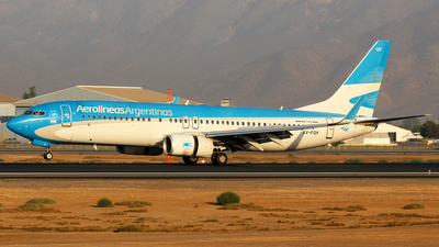 A picture of LVFQY - Boeing 73781D - Aerolineas Argentinas - © Alejandro Torres