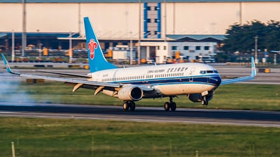 A picture of B5770 - Boeing 73781B - China Southern Airlines - © Biwa_Hayahide