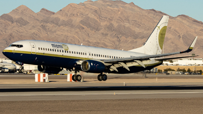 A picture of N738MA - Boeing 7378Q8 - [32799] - © Peter Hein