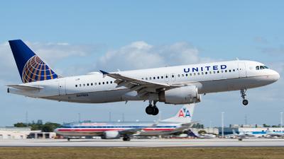 N491UA - Airbus A320-232 - United Airlines