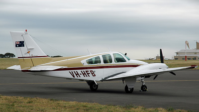 VH-HFB - Beechcraft 95-B55 Baron - Private