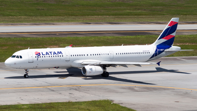 PT-MXF - Airbus A321-231 - LATAM Airlines