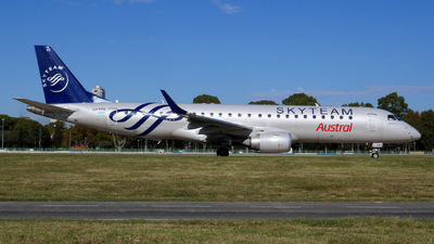 LV-FPS - Embraer 190-100IGW - Austral L�neas A�reas