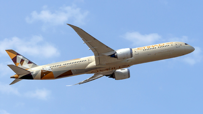 A6-BMB - Boeing 787-10 Dreamliner - Etihad Airways