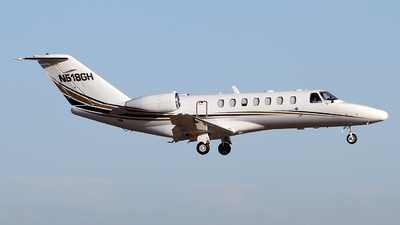 N518GH - Cessna 525B CitationJet 3 - Private