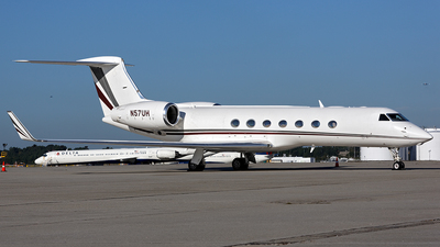 N57UH - Gulfstream G550 - Private