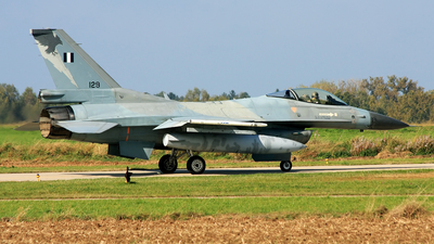 129 - General Dynamics F-16C Fighting Falcon - Greece - Air Force
