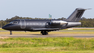 VH-SCR - Bombardier CL-600-2B16 Challenger 604 - Private