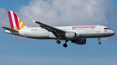 D-AIQM - Airbus A320-211 - Germanwings
