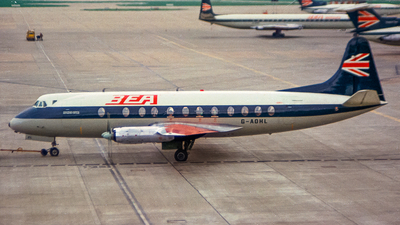 G-AOHL - Vickers Viscount 802 - British European Airways (BEA)