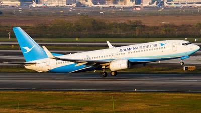 A picture of B7179 - Boeing 73785C - Xiamen Air - © ZUCKGYQ