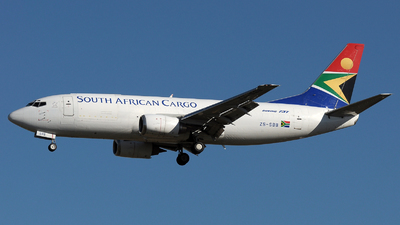 ZS-SBB - Boeing 737-3Y0(SF) - South African Cargo