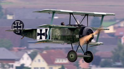 SE-XXZ - Fokker DR.1 - Private