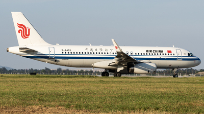 A picture of B8493 - Airbus A320232 - Air China - © KirkXWB