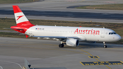 OE-LZD - Airbus A320-214 - Austrian Airlines