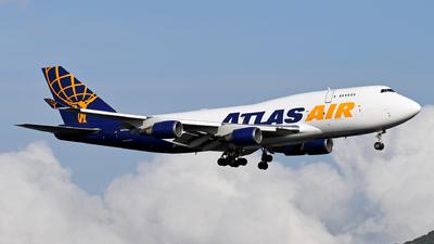 N473MC - Boeing 747-45E(BDSF) - Atlas Air