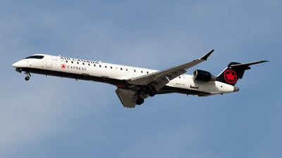 C-FOJZ - Bombardier CRJ-900LR - Air Canada Express (Jazz Aviation)