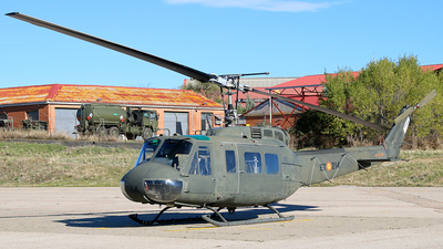 HU.10-34 - Bell UH-1H Iroquois - Spain - Army