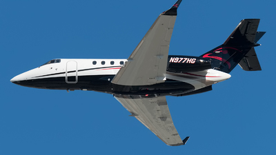 N977HG - Hawker Beechcraft 900XP - Private