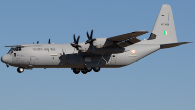 KC-3808 - Lockheed Martin C-130J-30 Hercules - India - Air Force